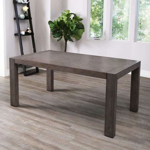 Abbyson Lillian Acacia Dining Table