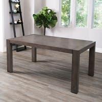 Abbyson Lillian Acacia Dining Table - Grey