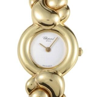 Chopard Casmir 18K Yellow Gold Ladies Quartz Bangle Watch 43/5854 D