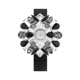 Swarovski Two Crystal- Embellished Covers and One Stainless Steel Cover Watch 5095571