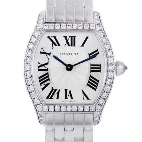 Cartier Tortue Womens Manual Wind Watch WA501011