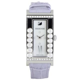 Swarovski Lovely Crystals Square White Watch  5096684