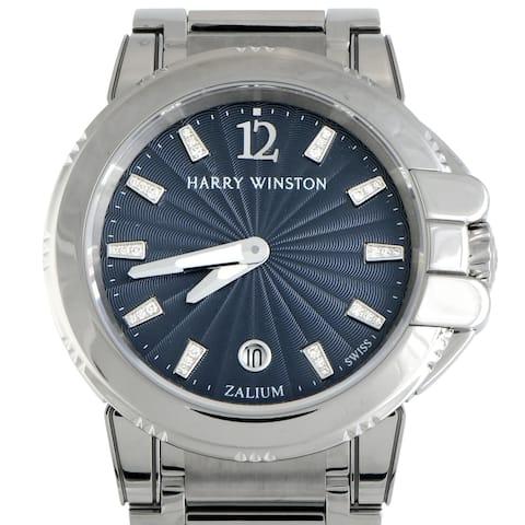 Harry Winston Ocean Sport Ladies Chronograph and Diver OCSQHD36ZZ003
