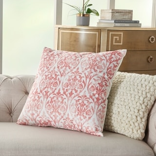Porch & Den Glenview Faded Damask Throw Pillow