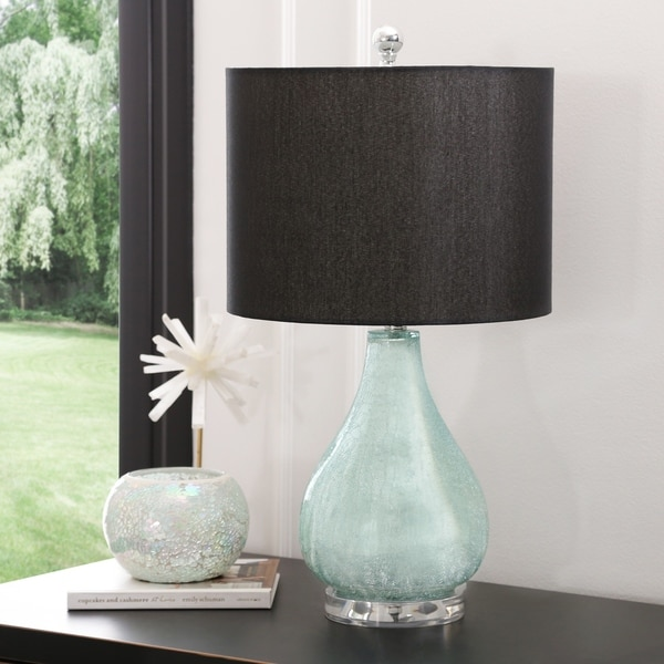 a79d333bb9f7 Shop Abbyson Juliet 24-inch Glass Table Lamp - On Sale - Free ...