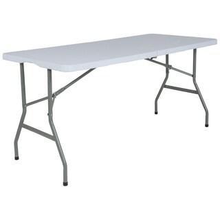 30''W x 60''L Bi-Fold Plastic Folding Table