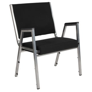 HERCULES Series 1500 lb. Rated Antimicrobial Bariatric Medical Reception Arm Chair