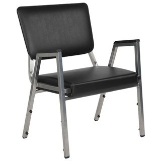 1500 lb. Rated Antimicrobial Bariatric Medical Reception Arm Chair