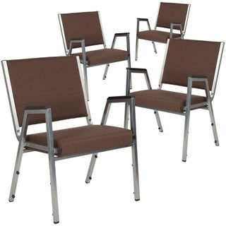 4 Pack Antimicrobial Bariatric Medical Reception Arm Chair