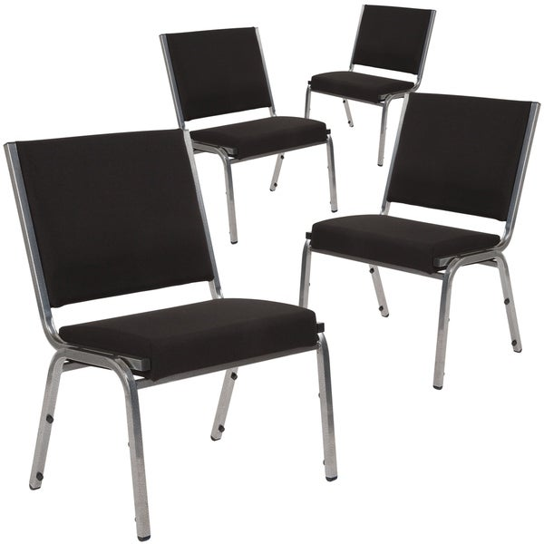 4 Pack Antimicrobial Bariatric Medical Reception Chair