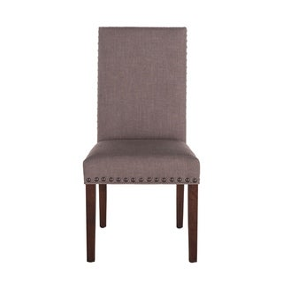 Link to Bristol Set of 2 Linen Dining Chairs Similar Items in Dining Room & Bar Furniture