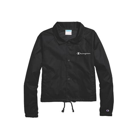 Champion Women's Heritage Woven Coaches Jacket