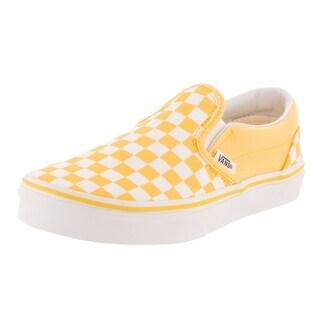 Vans Kids Classic Slip-On (Checkerboard) Skate Shoe