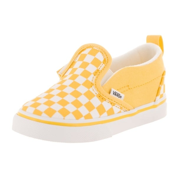 Shop Vans Toddlers Slip-On V (Checkerboard) Skate Shoe - Free ... ceed8fe96