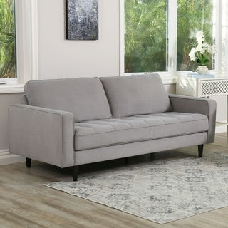 Shop Beguile Fabric Sofa Free Shipping Today Overstock