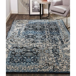 Grand Bazaar Tullamore Charcoal/Tan Rug