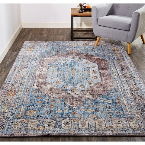 Grand Bazaar Matana Blue/Multi Rug