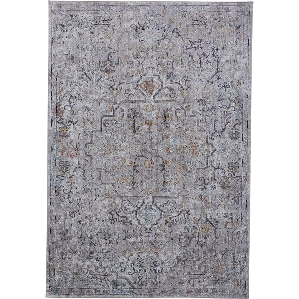 Copper Grove Mezieres Grey Area Rug On Free