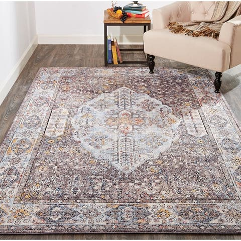 Grand Bazaar Matana Gray/Multi Rug