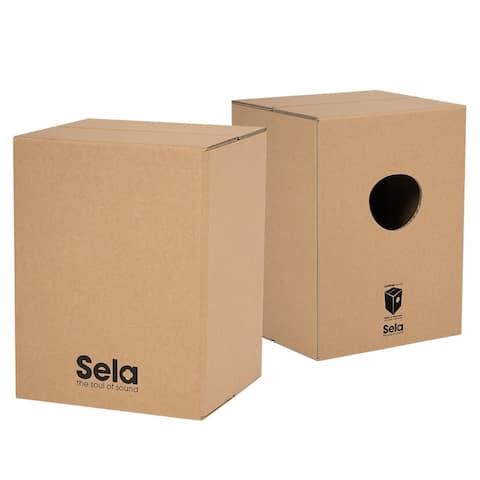 Sela Carboard Box Carton Cajon, Adult Size