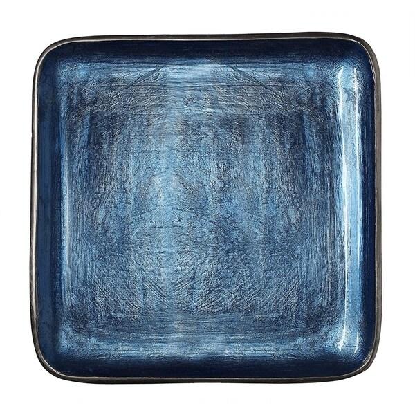Shop Melange Home Decor Square Tray Platter 12 25 Inch Bowl Color