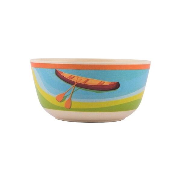 Melange 6-Piece Bamboo Bowl Set (Campers Kayak)