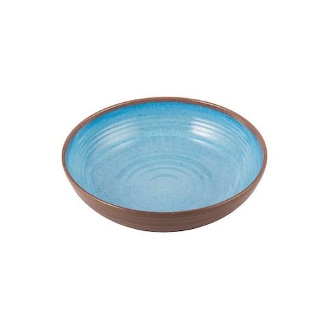 Melange 36-Piece 100% Melamine Bowl Set (Clay Collection)