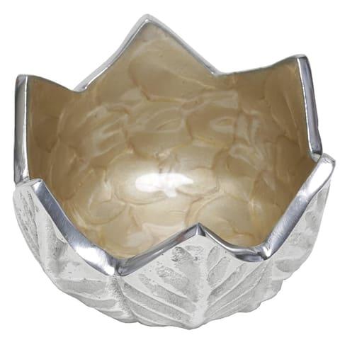 """Artisan d'Orient Tulip 4"""" Bowl Color - Gold, Set of 4"""