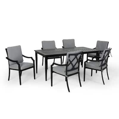Buy Grey Outdoor Dining Sets Online at Overstock | Our Best ...