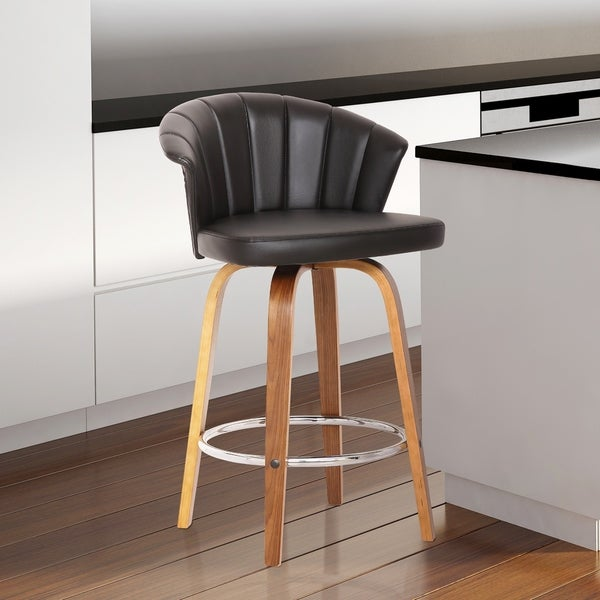 Shop Maya Mid Century 26 Quot Counter Height Barstool In