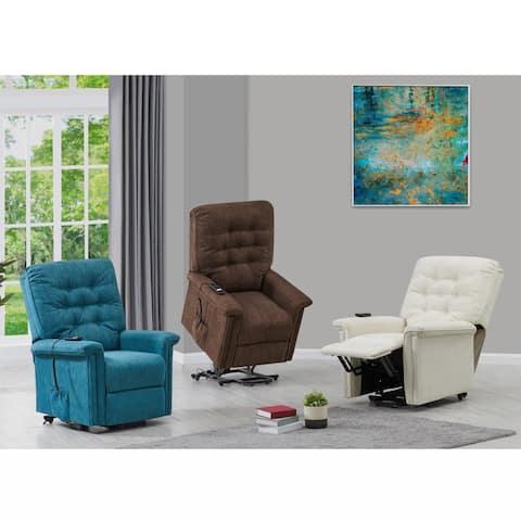 ProLounger Herringbone Power Recline and Lift Chair