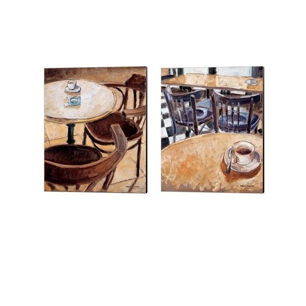 Adolf Llovera 'Together Forever' Canvas Art (Set of 2)
