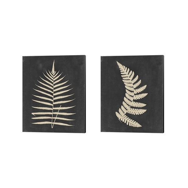 Porch & Den Vision Studio 'Linen Fern' Canvas Art (Set of 2)