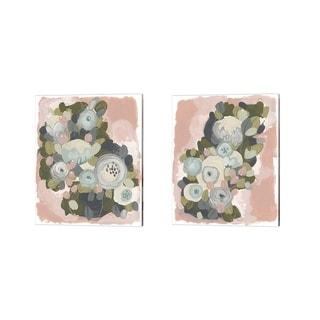 June Erica Vess 'Blossom Cascade' Canvas Art (Set of 2)