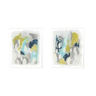 June Erica Vess 'Arc Lights' Canvas Art (Set of 2)