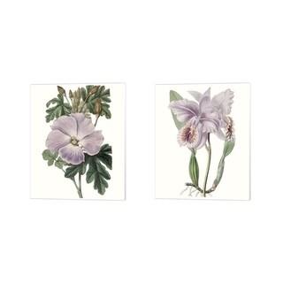 Edwards 'Lavender Beauties A' Canvas Art (Set of 2)