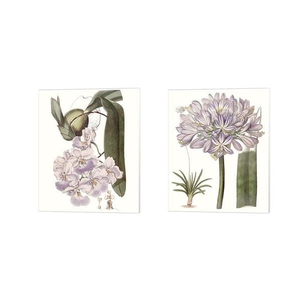 Edwards 'Lavender Beauties B' Canvas Art (Set of 2)
