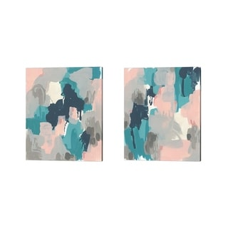 June Erica Vess 'Sky Song' Canvas Art (Set of 2)