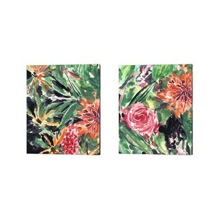 Melissa Wang 'Garden Fest' Canvas Art (Set of 2)