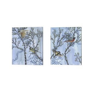 Melissa Wang 'Coexist' Canvas Art (Set of 2)