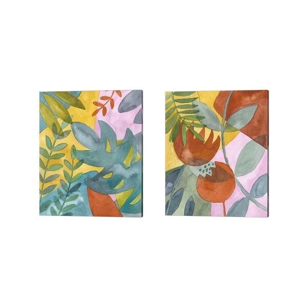Chariklia Zarris 'Fortunella' Canvas Art (Set of 2)