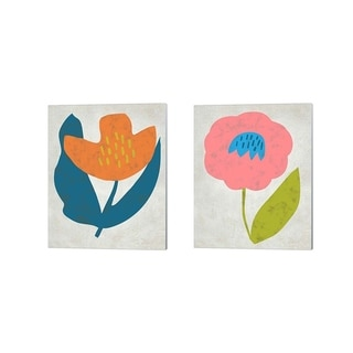 Chariklia Zarris 'Summer Soiree' Canvas Art (Set of 2)
