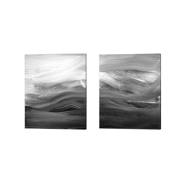 Teodora Guererra 'Secrets' Canvas Art (Set of 2)