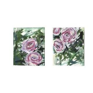 Melissa Wang 'Summer Celebration' Canvas Art (Set of 2)