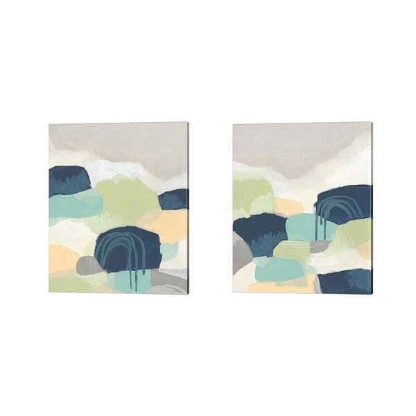 June Erica Vess 'Brenner Pass' Canvas Art (Set of 2)