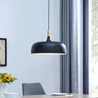 Strick & Bolton Ledet Black Pendant Lamp