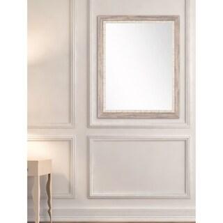 Hidden Cove Accent Mirror - White/Grey