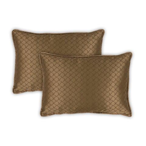 Sherry Kline Luxuriant Boudoir Pillows (Set of 2)