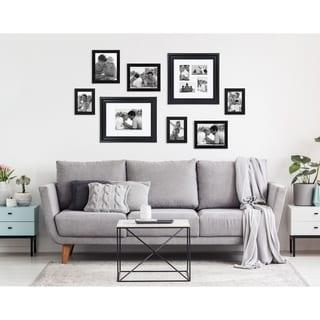 DesignOvation Dalat Black Collage Picture Frame