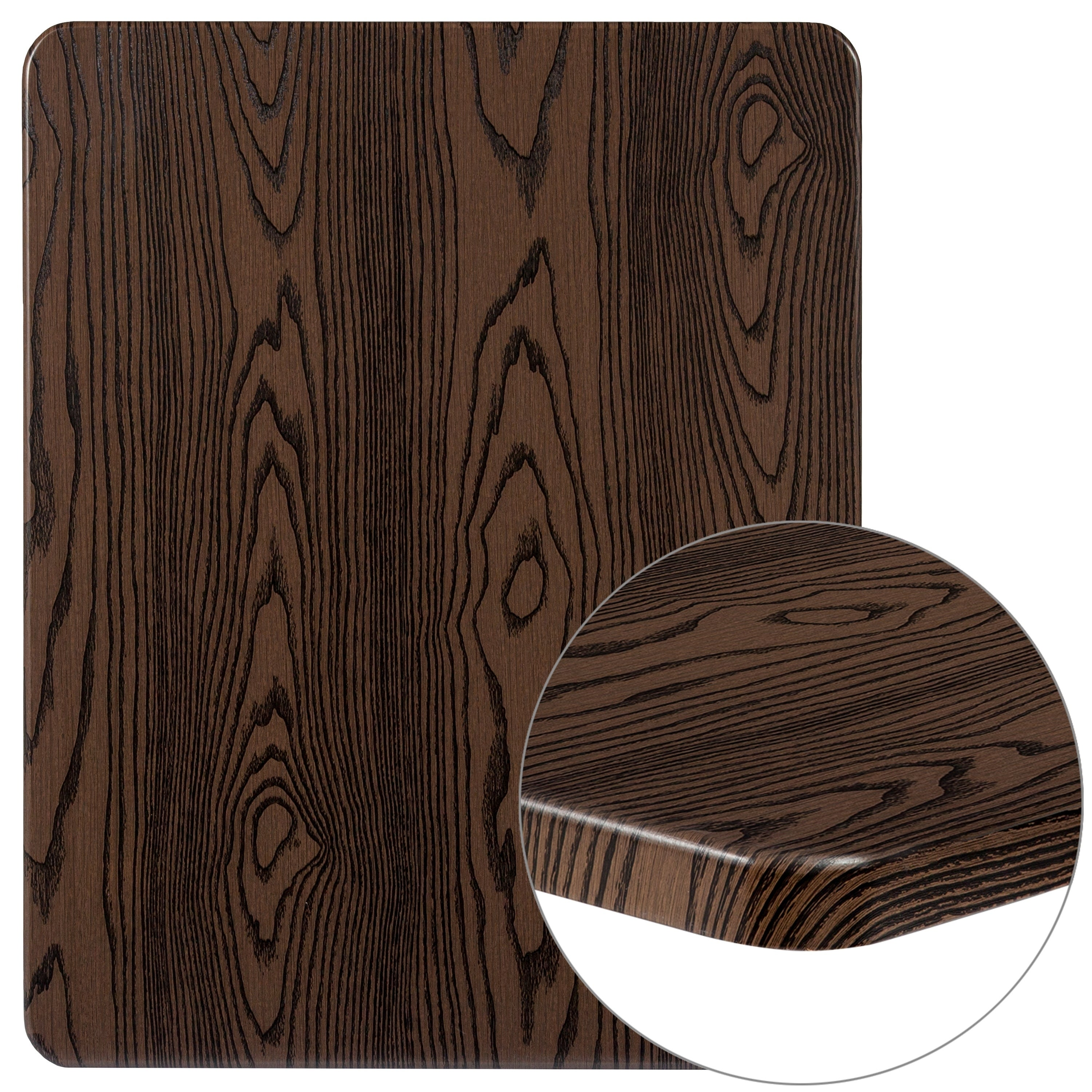 vidaXL Solid Oak Wood Table Top Replacement Top Round//Rectangular Multi Sizes